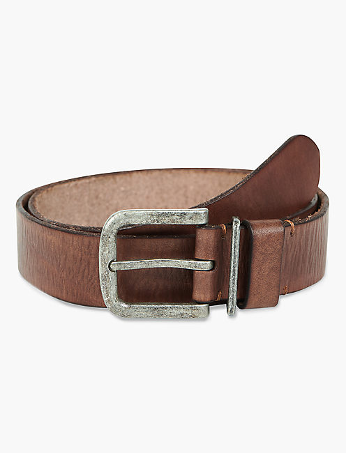 BROWN LEATHER BELT,
