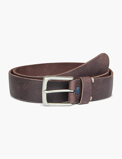 Teen guy leather belt