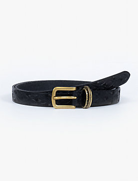EMBOSSED NOVELTY BELT