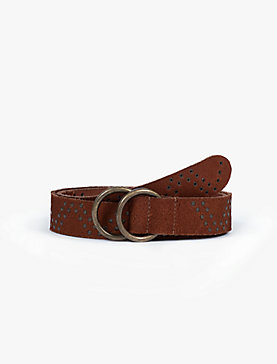 STUDDED PULL THROUGH BELT