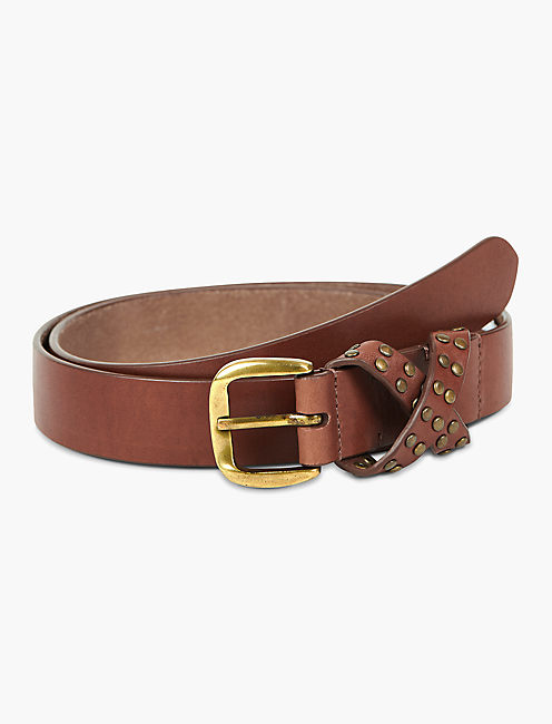 METALLIC SKINNY BELT,