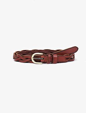 DOUBLE KEEPER BRAID BELT