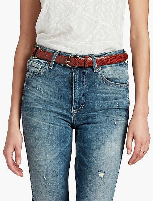 Lucky Dressy Leather Belt