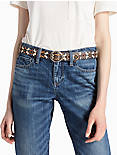 MULTI EMBROIDERED BELT,