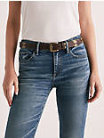 METAL EDGE SKINNY BELT,