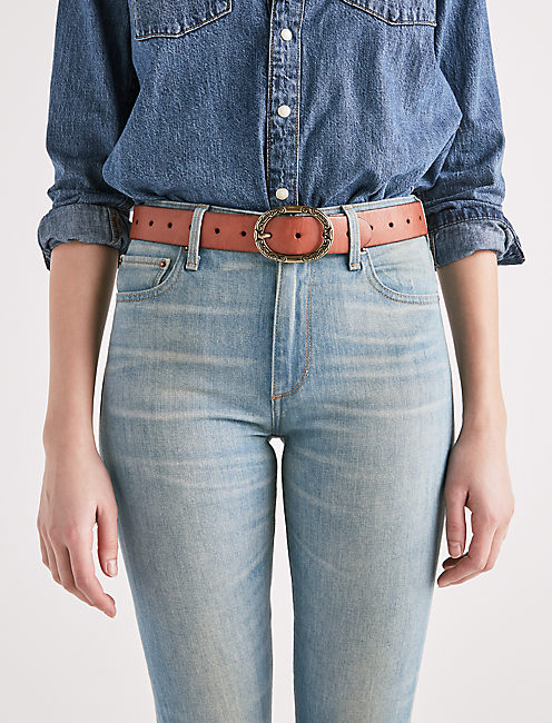 Lucky Novelty Buckle Belt