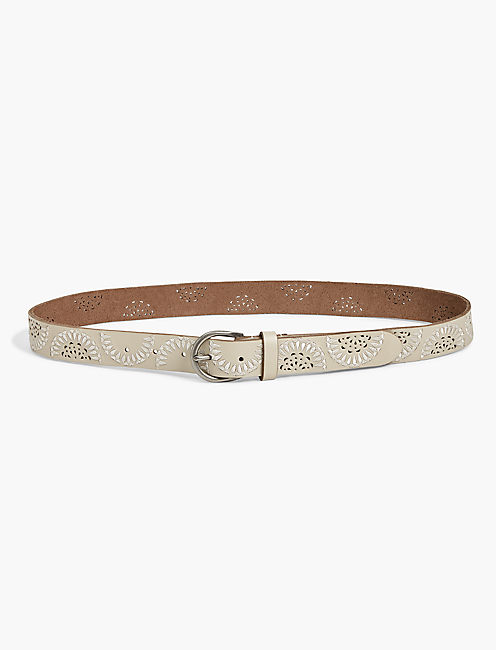 TONAL HALF MOON MIX BELT,