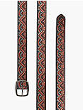 CHEVRON EMBROIDERED BELT,