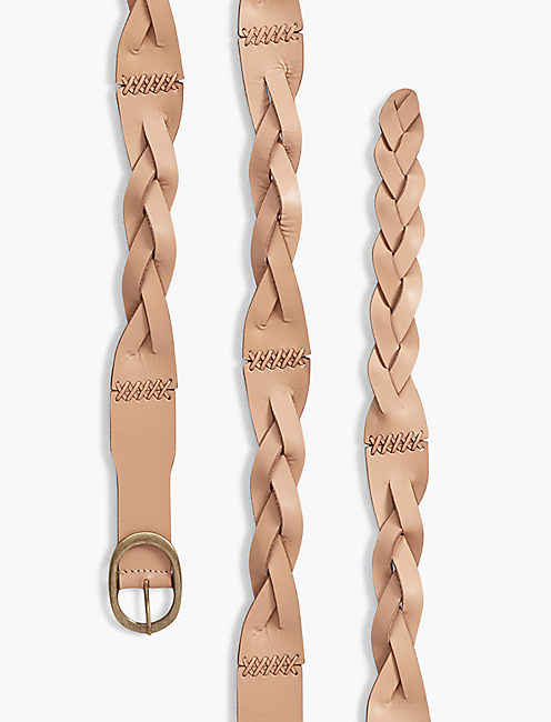 BRAIDED LACING BELT,