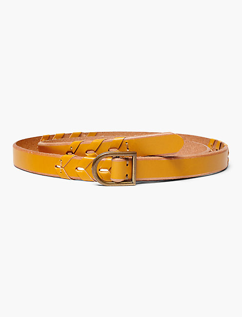 BRAIDED PULL THROUGH BELT,