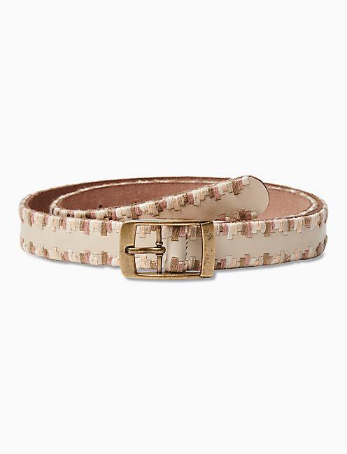 SERAPE EMBROIDERED BELT,
