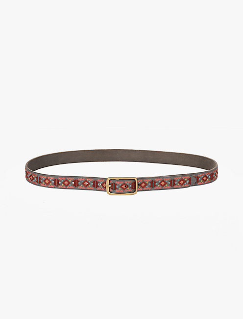 BOLD EMBROIDERED BELT,