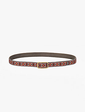 BOLD EMBROIDERED BELT