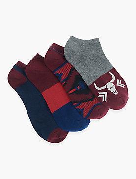 AZTEC LEG NO SHOW SOCKS