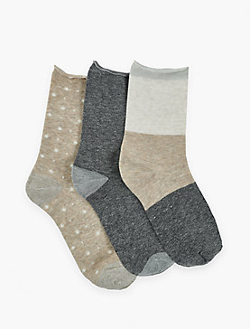 STARRY SKIES CREW SOCKS