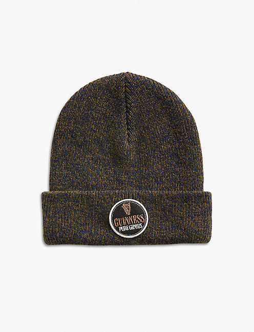 GUINNESS PATCH MARLED BEANIE,