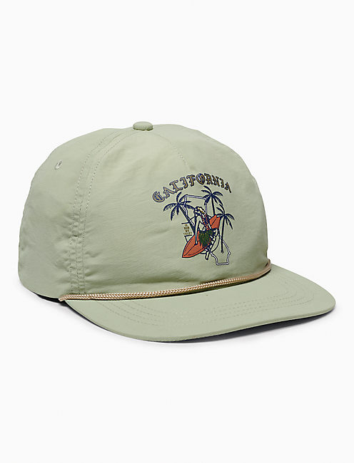 CALIFORNIA PRINTED HAT,