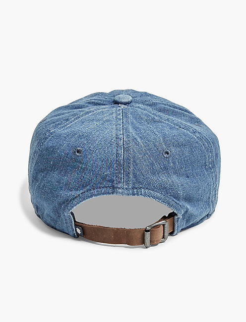 Lucky Patch Denim Baseball Hat