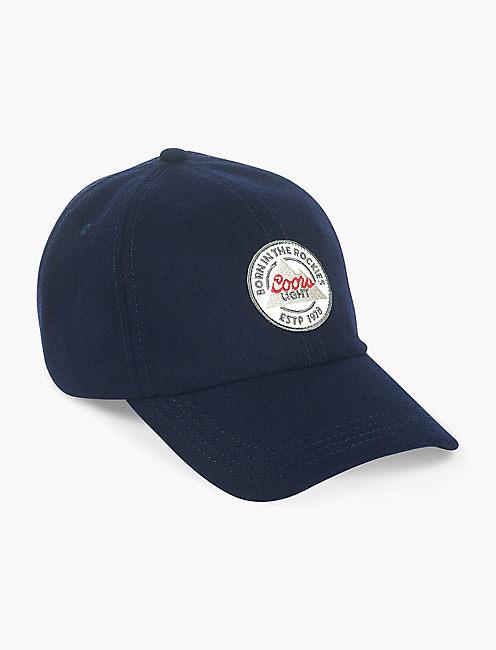 COORS FLAT BRIM HAT, NAVY