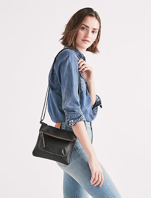 Lucky Fold Crossbody Bag
