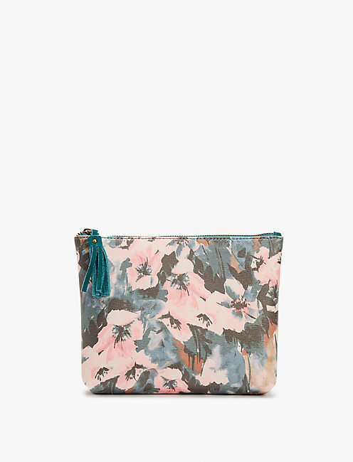 PRINTED COSMETIC BAG LARGE,