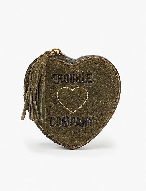 Trouble Heart Pouch