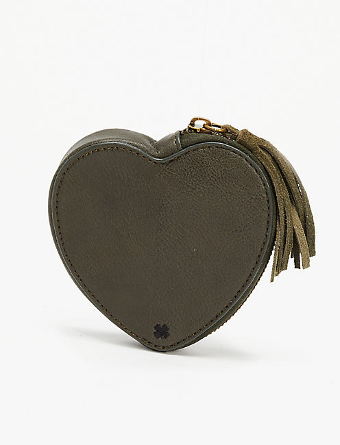 Lucky Trouble Heart Pouch