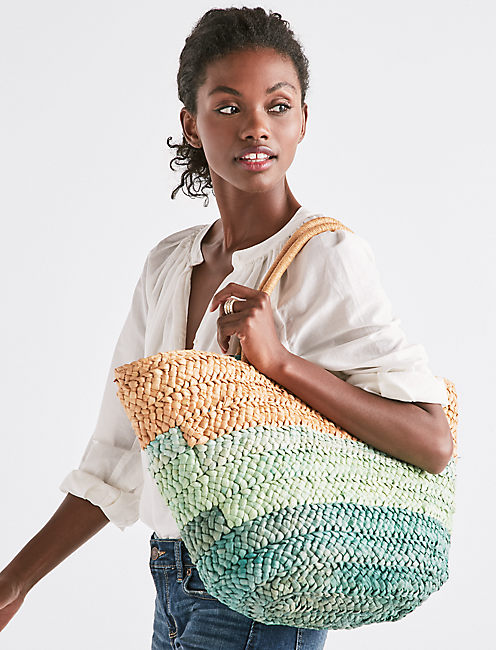 Lucky Basket Beach Tote