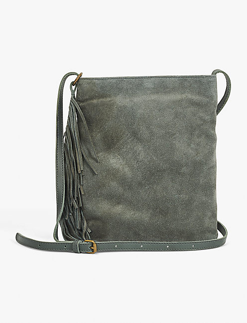 Lucky Fringe Dangle Crossbody