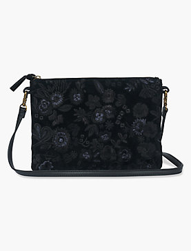 MIDNIGHT FLORAL EMBROIDERED