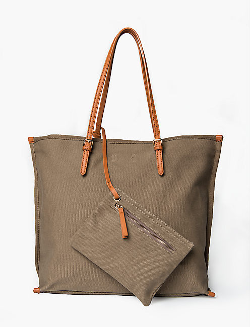 CANVAS SOLID TOTE,