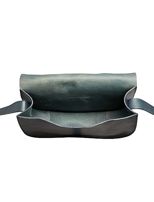 THE POINT SHOULDER BAG, MEDIUM DARK BLUE