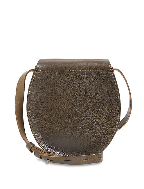 THE POINT FLAP CROSSBODY, OLIVE