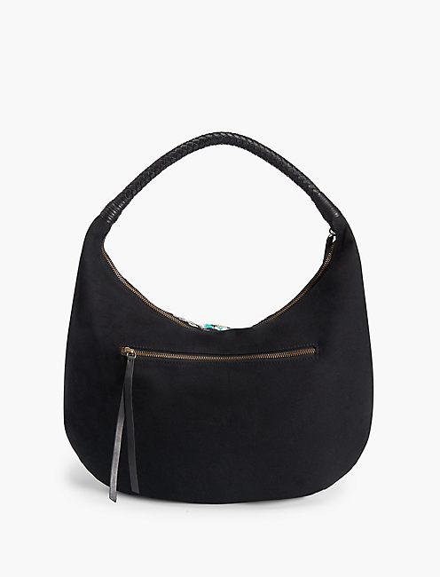 LEMOYNE HOBO BAG, BLACK