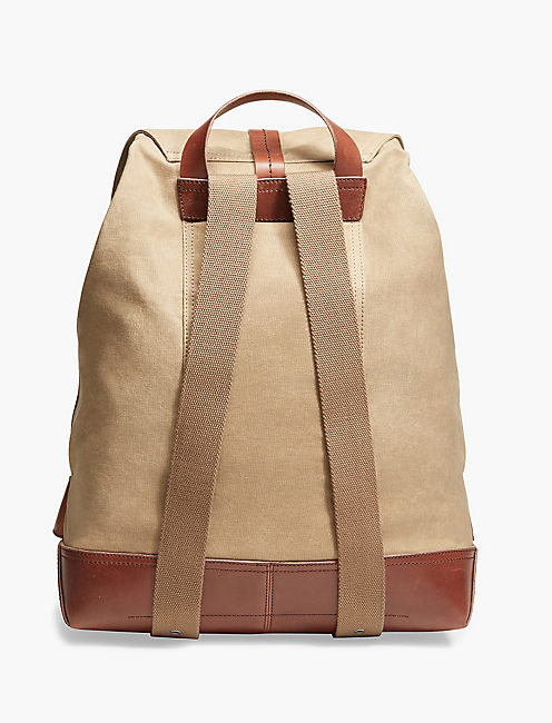 WAXED CANVAS BACKPACK,