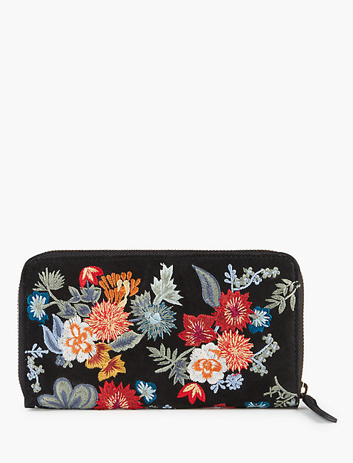 Lucky Floral Embroidered Wallet