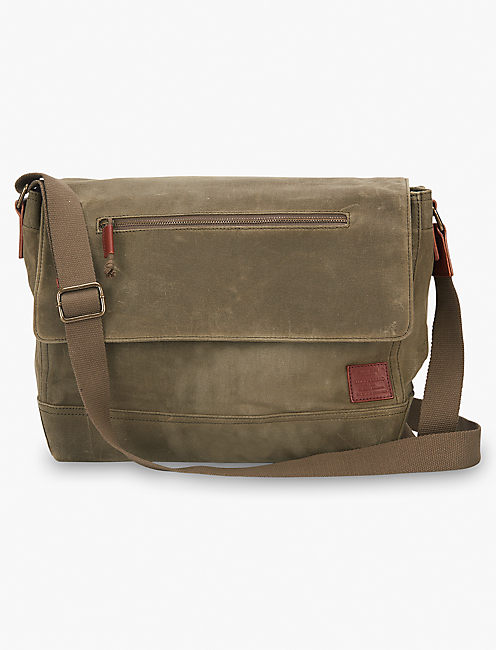 Waxed Canvas Messenger