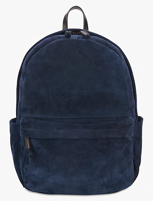 UNISEX SUEDE BACKPACK,