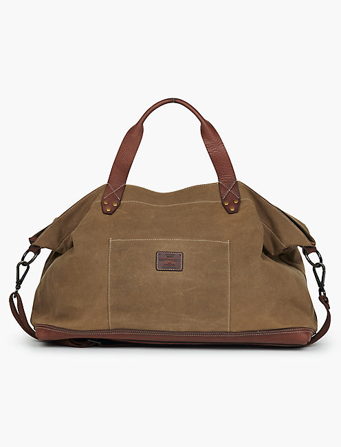 WAXED CANVAS WEEKENDER,