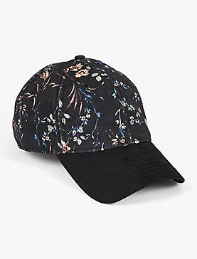 FLORAL PRINTED HAT