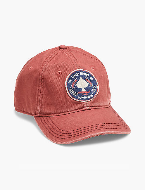 LUCKY SPADE BASEBALL HAT,