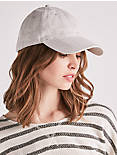 TEXTURED STRIPE BASEBALL HAT,