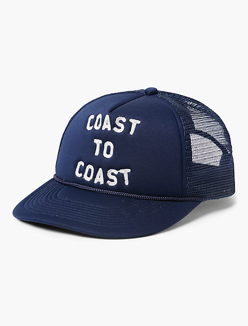 COAST TO COAST TRUCKER HAT,