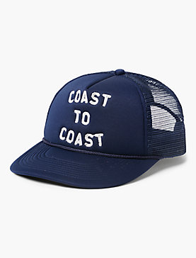 COAST TO COAST TRUCKER HAT