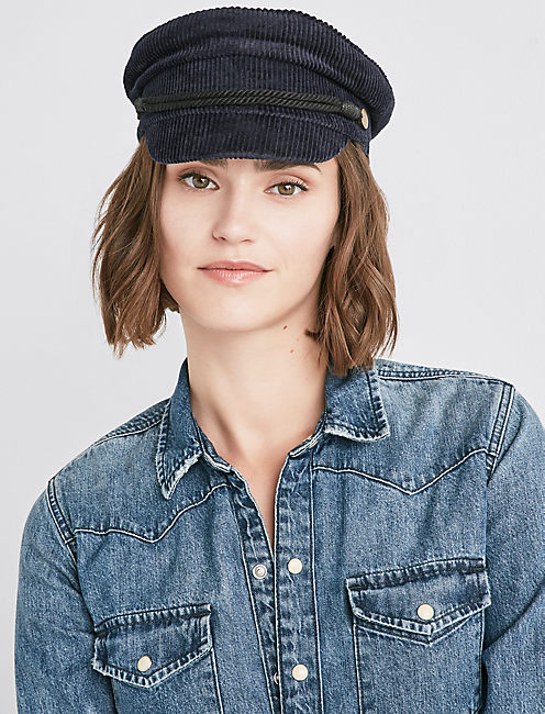 CORDUROY CONDUCTOR HAT,