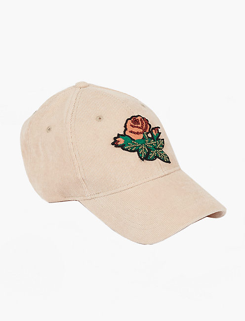 BEAD PATCH BASEBALL HAT,