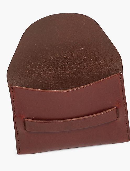 HIGHLAND CARD CASE, TOBACCO