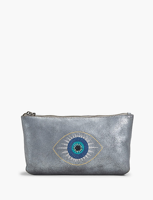 EVIL EYE COSMETIC POUCH,