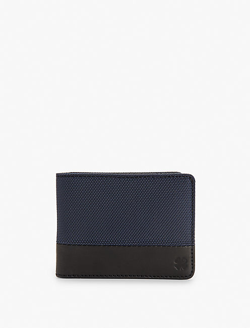 NYLON LEATHER WALLET,