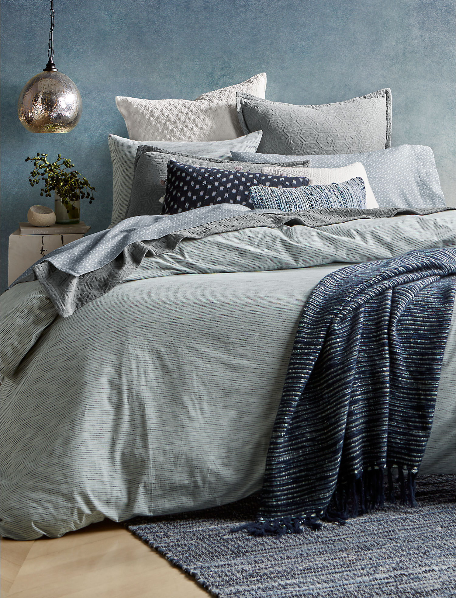 Santa Fe Stripe King Bedroom Collection | Lucky Brand
